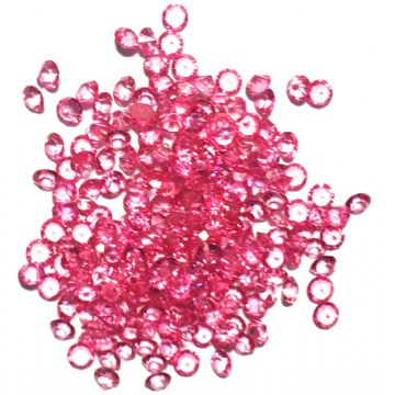 Resin sparkling crystals - 3mm - PINK